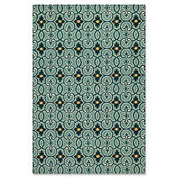 KAS Harbor Scrollwork Indoor/Outdoor Rug