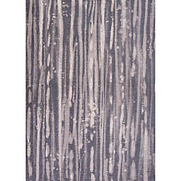 KAS Retreat Visions 6-Foot 7-Inch x 9-Foot 6-Inch Area Rug in Charcoal