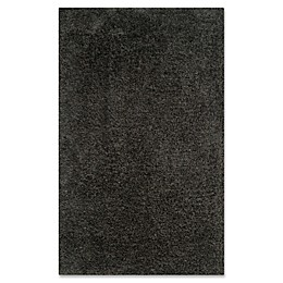 Safavieh Supreme Shag Area Rug in Dark Grey