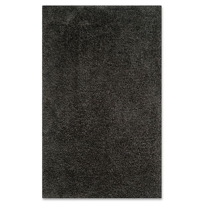 Alternate image 1 for Safavieh Supreme Shag Area Rug in Dark Grey