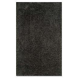 Safavieh Supreme Shag Area Rug in Dark Grey