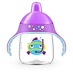 Philips Avent My Little Fish 9 oz. Sippy Cup in Purple