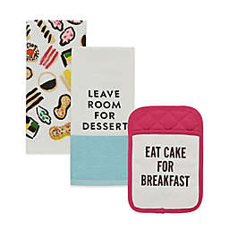 kate spade new york Food for Thought Kitchen Linens
