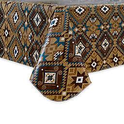 Santa Fe Stain Resistant Vinyl Tablecloth