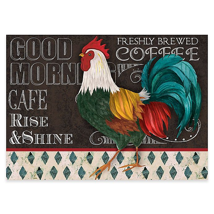 Alternate image 1 for Premium Comfort by Weather Guard™ 22-Inch x 31-Inch Blackboard Rooster Comfort Mat