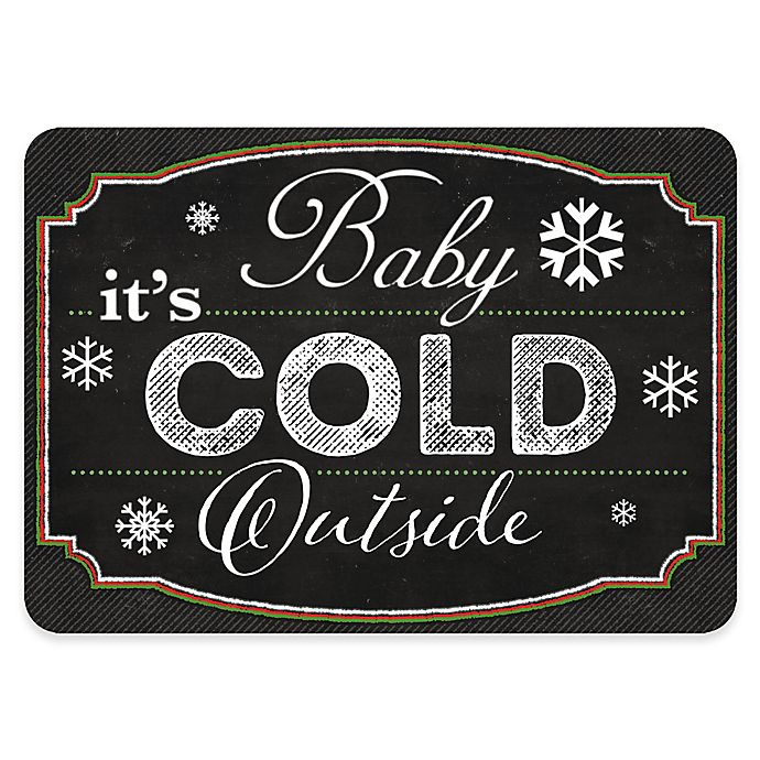 Alternate image 1 for Premium Comfort By Weather Guard™ 22-Inch x 31-Inch Cold Outside Blackboard Mat