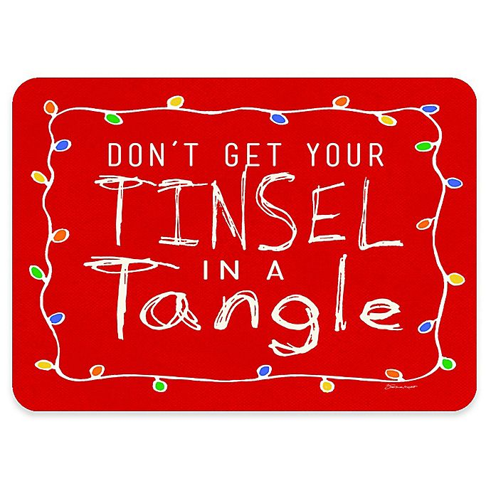 Alternate image 1 for Premium Comfort by Weather Guard™ 22-Inch x 31-Inch Tinsel in a Tangle Comfort Mat