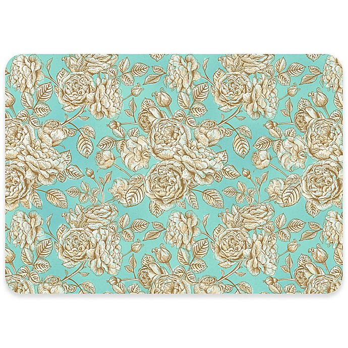 Alternate image 1 for Premium Comfort By Weather Guard™ 22-Inch x 31-Inch Floral Toile Comfort Mat