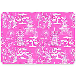 Premium Comfort By Weather Guard™ 22-Inch x 31-Inch Chinoiserie Comfort Mat in Pink/White