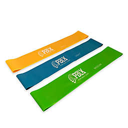 3-Piece Mini Resistance Bands Set with Workout Book