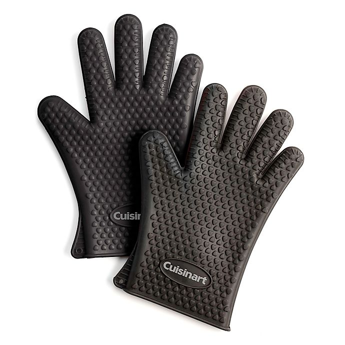 Alternate image 1 for Cuisinart® Heat-Resistant Silicone Gloves (Set of 2)