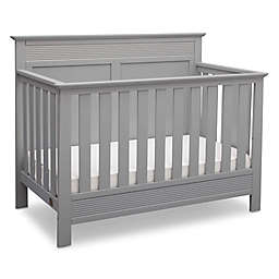 Serta Fall River 4-in-1 Convertible Crib in Grey by Delta Children