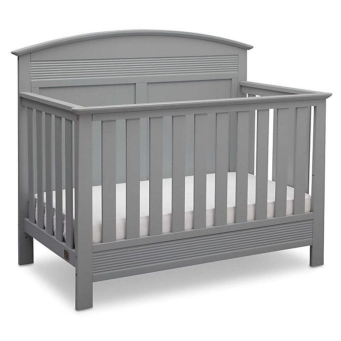 Alternate image 1 for Serta® Ashland 4-in-1 Convertible Crib in Grey