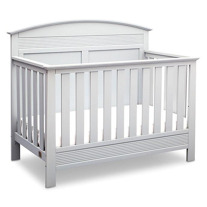 Alternate image 1 for Serta® Ashland 4-in-1 Convertible Crib in White