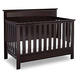 Serta Fall River 4-in-1 Convertible Crib in Dark Chocolate by Delta Children