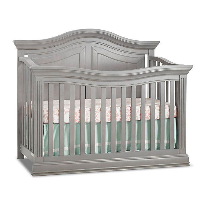 Alternate image 1 for Sorelle Providence 4-in-1 Convertible Crib in Stone Grey