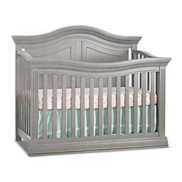 Sorelle Providence 4-in-1 Convertible Crib in Stone Grey