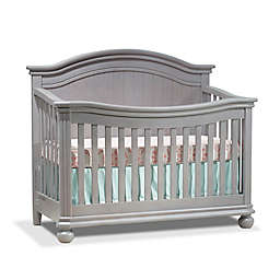 Sorelle Finley 4-in-1 Convertible Crib in Stone Grey