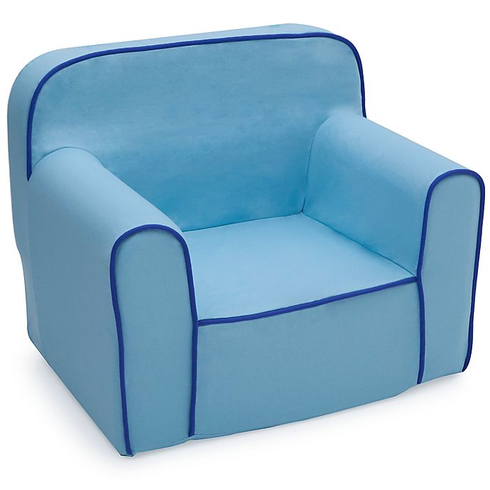 Alternate image 1 for Delta Children Snuggle Chair in Blue