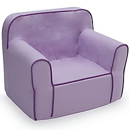 Delta Children Snuggle Chair in Purple