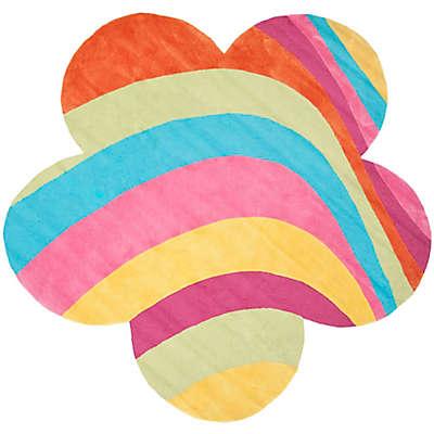 Safavieh Kids® Rainbow 8-Foot Round Multicolor Area Rug