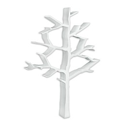 Nursery Works Wood Tree Bookcase in White