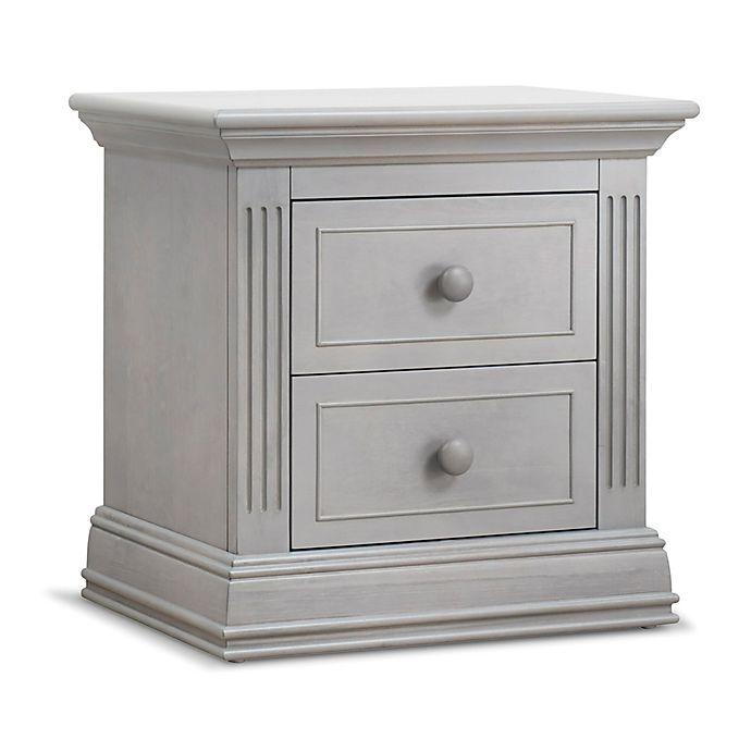 Alternate image 1 for Sorelle Providence Nightstand in Stone Grey