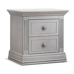 Sorelle Providence Nightstand in Stone Grey