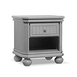 Sorelle Finley Nightstand in Stone Grey