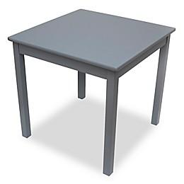 Lipper Kids Square Table in Grey