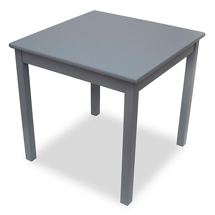 Alternate image 1 for Lipper Kids Square Table in Grey