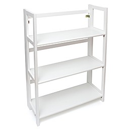 Lipper KIDS 3-Shelf Bookcase in White