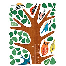 Wallies Woodland Growth Chart Peel & Stick Wall Decals