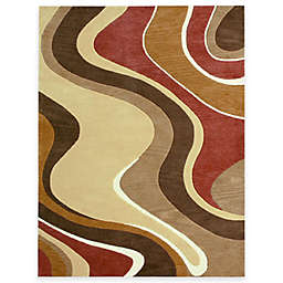 Loloi Rugs Kayley 7-Foot 10-Inch x 11-Foot Room Size Rug in Beige