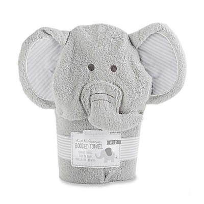 Baby Aspen Size 0-9M Little Peanut Elephant Hooded Spa Towel