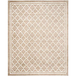 Safavieh Amherst Quine 10-Foot x 14-Foot Indoor/Outdoor Area Rug in Wheat/Beige