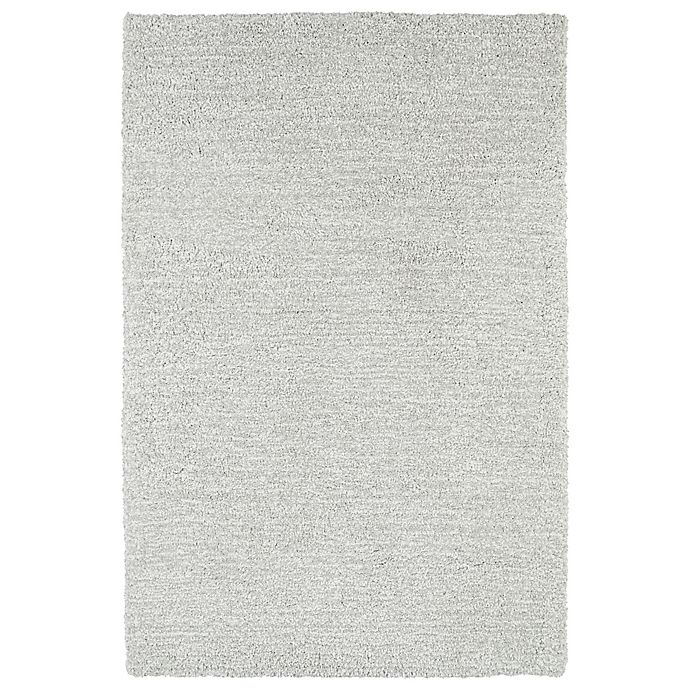 Alternate image 1 for Kaleen Cotton Bloom 3-Foot 6-Inch x 5-Foot 6-Inch Shag Area Rug in Silver