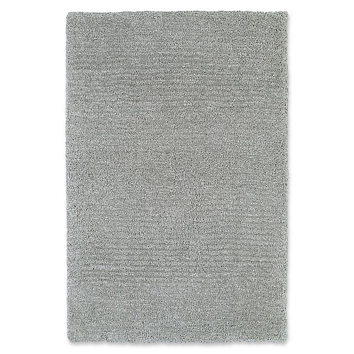 Alternate image 1 for Kaleen Cotton Bloom 5-Foot x 7-Foot 6-Inch Shag Area Rug in Grey