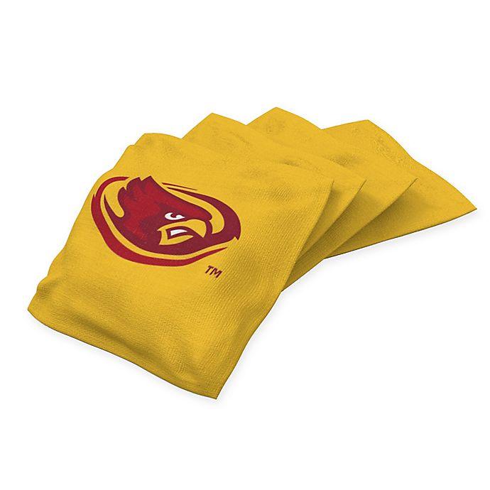 Alternate image 1 for Iowa State University Regulation Cornhole Bean Bags in Yellow (Set of 4)