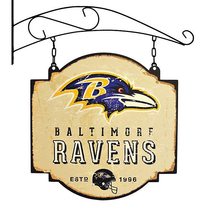 Alternate image 1 for NFL Baltimore Ravens Tavern Sign