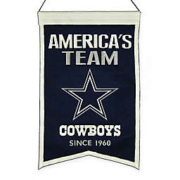 NFL Dallas Cowboys Franchise Banner