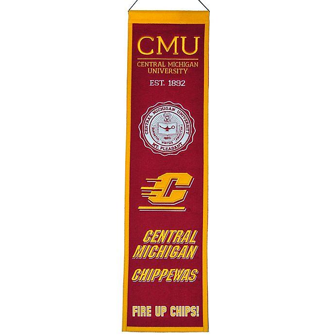 Alternate image 1 for Central Michigan University Heritage Banner