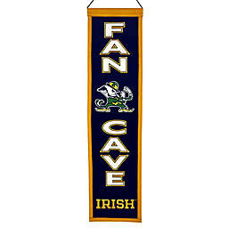 University of Notre Dame Man Cave Banner
