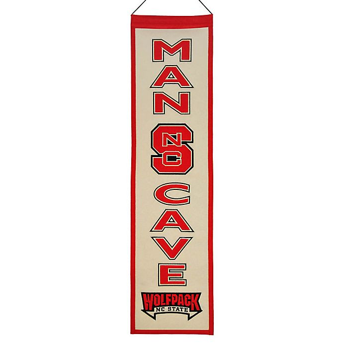 Alternate image 1 for North Carolina State University Man Cave Banner
