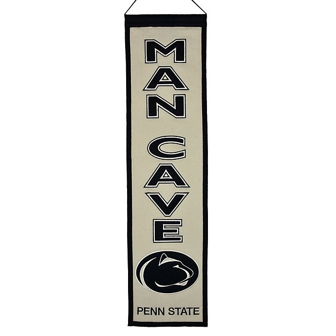 Alternate image 1 for Penn State University Man Cave Banner