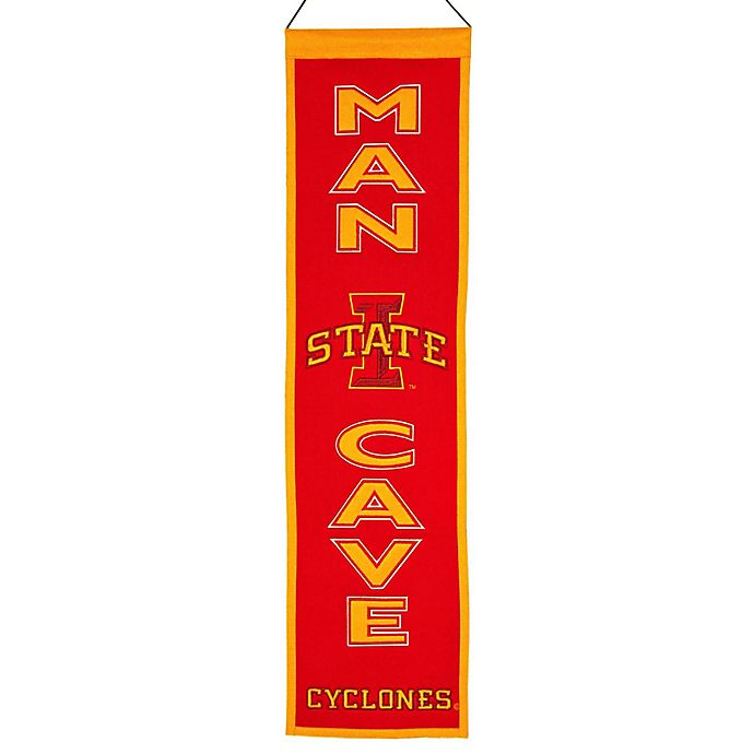 Alternate image 1 for Iowa State University Man Cave Banner