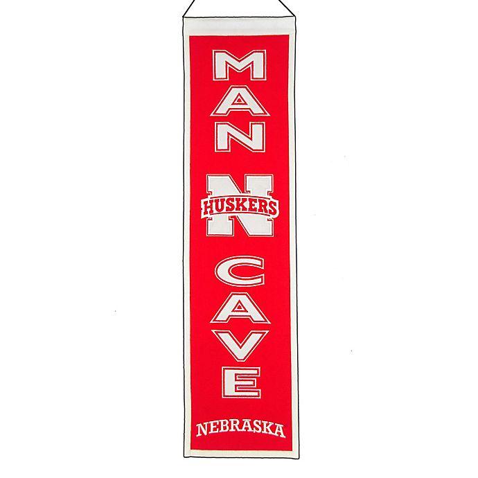 Alternate image 1 for University of Nebraska Man Cave Banner