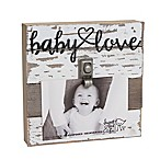 Sweet Bird & Co.  Baby Love  4-Inch x 6-Inch Wooden Clip Frame