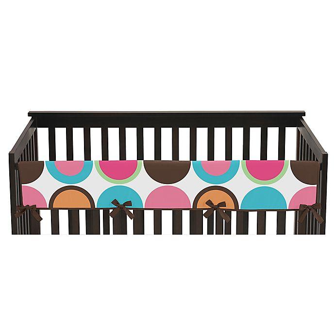 Alternate image 1 for Sweet Jojo Designs Deco Dot Long Crib Rail Cover