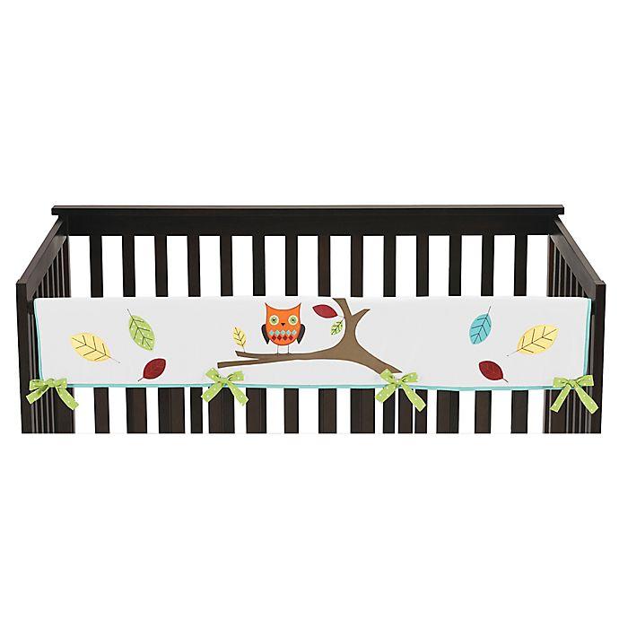 Alternate image 1 for Sweet Jojo Designs Hooty Long Crib Rail Cover